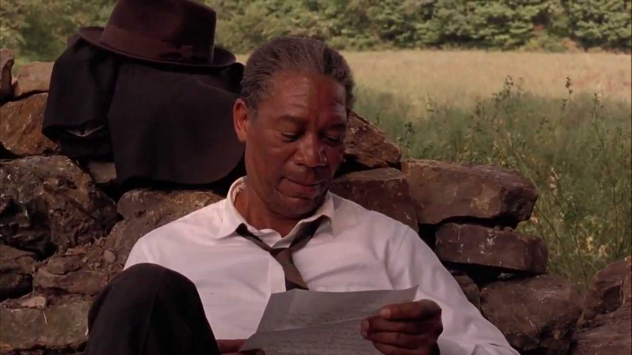 an analysis of freedom in the film the shawshank redemption Few other modern films capture the power of the human spirit more than the shawshank redemption redemption' – film review and analysis win his freedom.