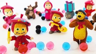 Masha and the Bear New Toys and Orbeez Fun Show for KIDS Let