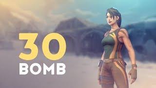 30 BOMB! - SLAYING SQUADS (Fortnite Battle Royale)