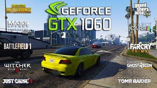 NVIDIA GTX 1060 + Ryzen 3 1300x Test in 10 Games