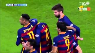 fcb vs celta vigo 6 1magnifique but lionnel messi 14 02  2016