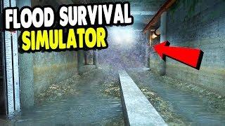 BEST GAME Surviving HUGE FLOOD In Underground Factory | INFRA Gameplay