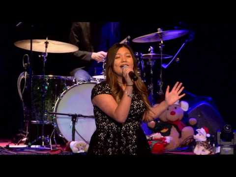 Gabriella Flores singing Do You Hear What I Hear 12/19/2016