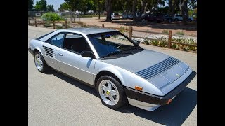 SOLD 1983 Silver Ferrari Mondial Coupe for sale by Corvette Mike