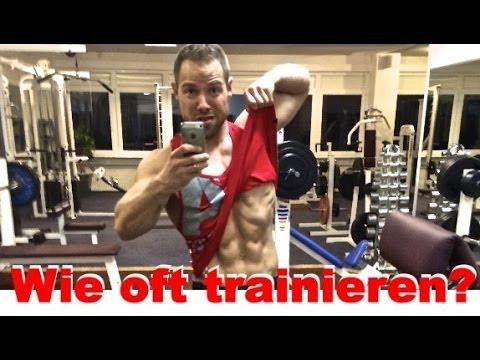 Wie oft die Muskelgruppe pro Woche trainieren? - Einfacher Trick