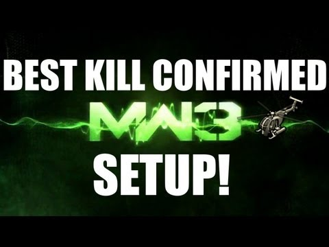 MW3 Best Guns & Perks! - Best Kill Confirmed Setup! (40+ Kills)