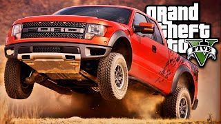GTA V FORD RAPTOR OFF ROAD - MOD Carro