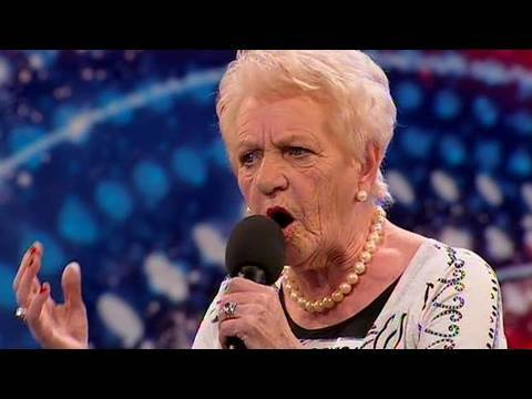 Janey Cutler - Britain's Got Talent 2010 - Auditions Week 4 video