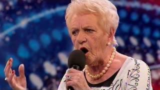 Janey Cutler Britain 39 S Got Talent 2010 Auditions Week 4