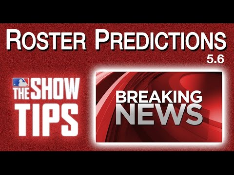 MLB The Show 16 - BREAKING NEWS + Roster Predictions (5.6)