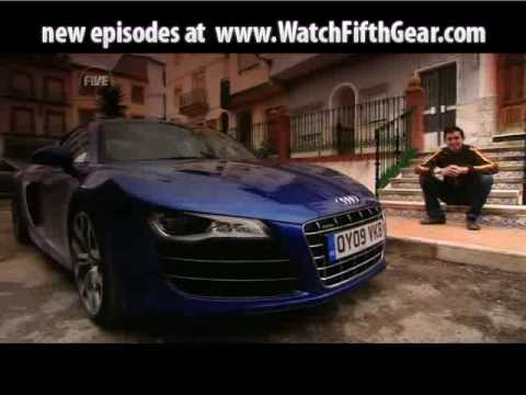 Fifth Gear Se16 Ep01 - Audi R8 V10