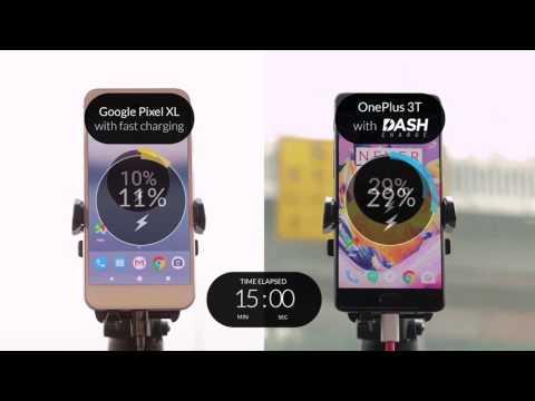 OnePlus 3T vs. Google Pixel XL: Welche Ladetechnik lädt den Akku schneller?