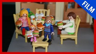 Playmobil Film deutsch - HAMBURGER ESSEN - PlaymoGeschichten - Kinderserie