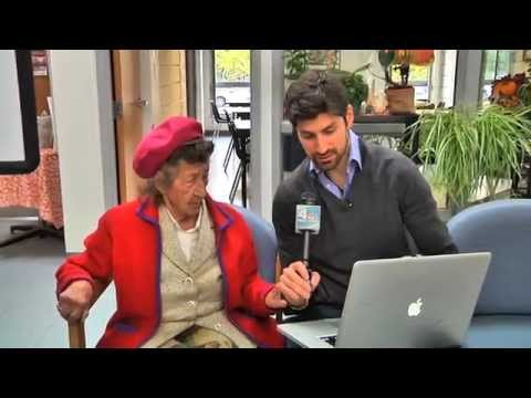 Ben Aaron Celebrates The Booty...By Playing Music For Senior Citizens