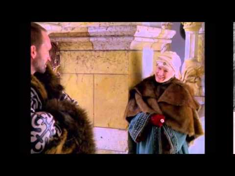 Kate Hepburn and Glenn Close as Eleanor of Aquitaine