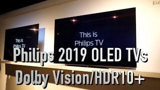 Philips 804, 854 OLED TV launch with Dolby Vision and HDR10+ and more