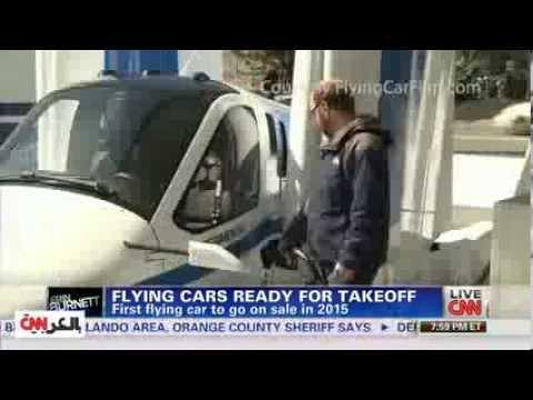 السيارة الطائرة ستصبح في المحلات بعد عام