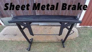 DIY Sheet Metal Brake