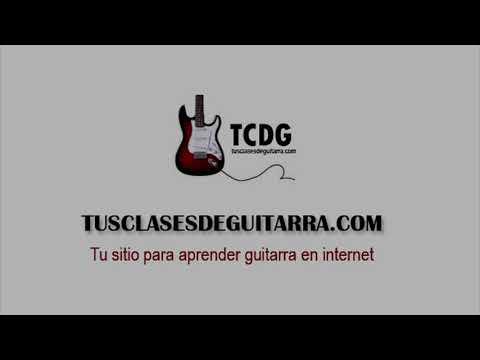 Como Tocar Las Notas Musicales y Las Escalas en Guitarra Eléctrica / Curso Fácil TCDG
