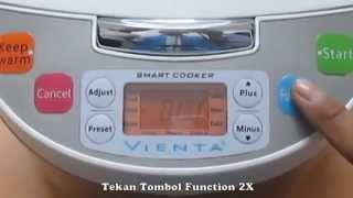 Vienta Smart Cooker Fungsi Cook