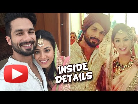 Revealed: Shahid Kapoor & Mira Rajput's Wedding Details