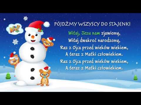 Pójdźmy Wszyscy Do Stajenki - Polskie Kolędy - Karaoke