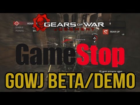 Gears of War: Judgment Overrun Early Access Demo For GameStop Pre-orders(GOWJ Overrun Gameplay)