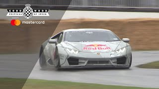 Drifting at Goodwood Festival of Speed 2019