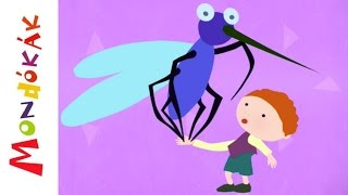 Megfogtam egy szúnyogot (mondóka, rajzfilm gyerekeknek)