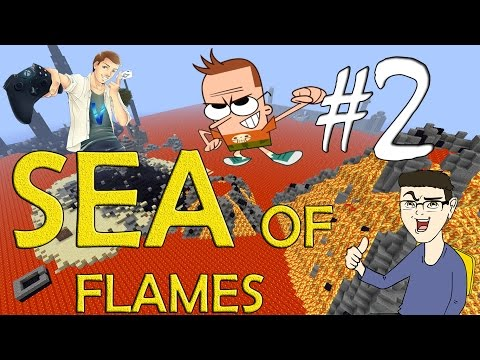MINECRAFT : SEA OF FLAMES - SIAMO SPACCIATI w/SurrealPower & Vegas #2
