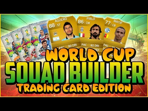 WORLD CUP CARDS SQUAD BUILDER! w/ AGUERO!   FIFA 14 Ultimate Team