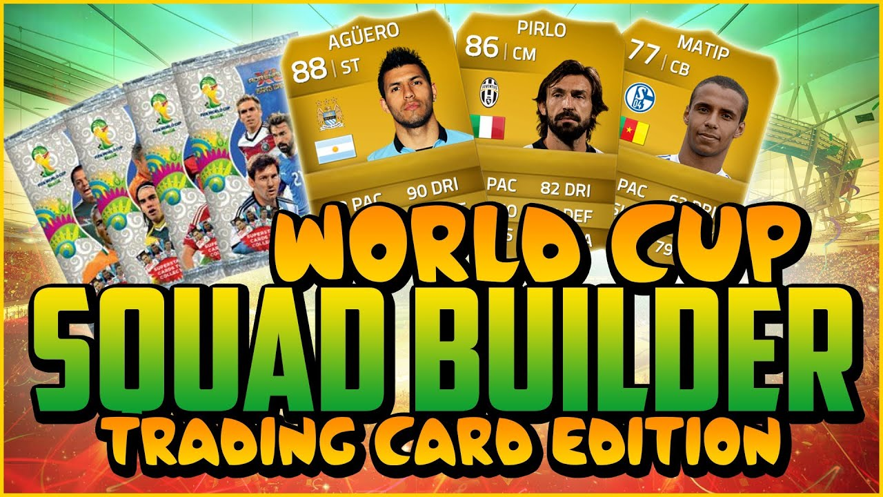 World Cup Cards World Cup Cards Squad Builder