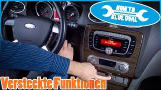 Versteckte Funktionen - GEM Modul, Coming Home etc. für Ford Focus   Fiesta   Mondeo   C-MAX   Kuga