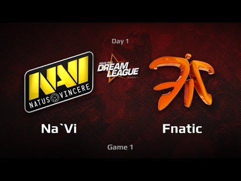 Na'Vi -vs- Fnatic, DreamLeague Day 1, Game 1