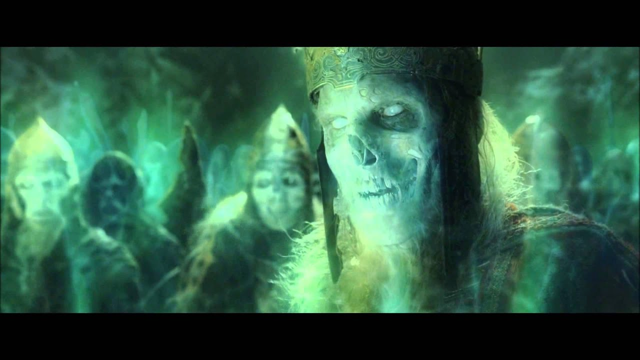 Lord Of The Rings Green Ghosts