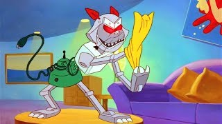 Чип и Дейл спешат на помощь - Серия 27, Робокот | Мультфильмы Disney