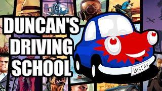 GTA V - Duncan's Driving School! Racing Wheel Controls!