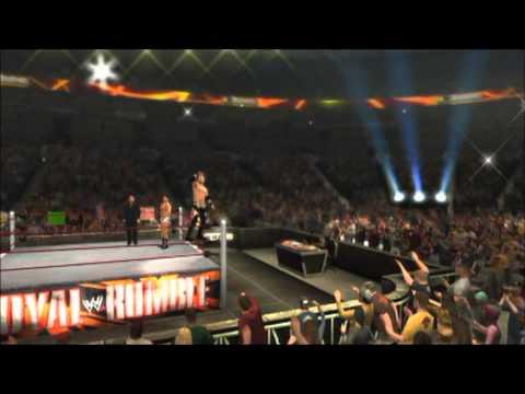 WWE 12 Story Mode | Road To Wresltemania | Episode 1 | Christian Vs Cody Rhodes