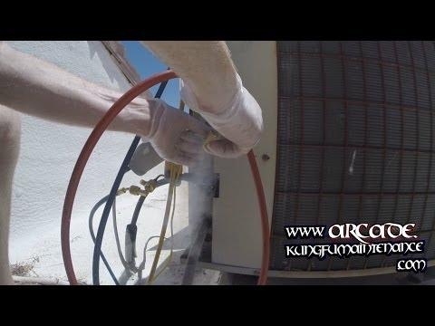 how to fix ac freon leak