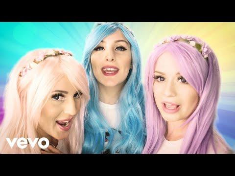 Dolly Style Unicorns & Ice Cream pop music videos 2016