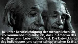 Albert Einstein - I Am an American (1940)