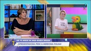 OS 70 ANOS DE ANA MARIA BRAGA  AOS OLHOS DE MÁRCIA FERNANDES