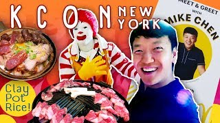 Korean Food Tasting, Kpop Concert & McDonald Beat Box Battle in New York!