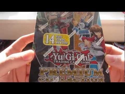 YuGiOh Premium Collection Tin 2012 Opening !
