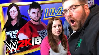 A REAL LIFE STALKER? BEST GTS WWE 2K18 Create A Wrestlers!