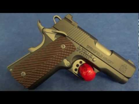 Springfield Armory .45 ACP Micro Compact 1911 with Custom Cerakote. & Much More