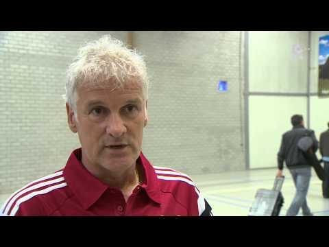 Fred Rutten na afloop van zijn eerste duel bij Feyenoord