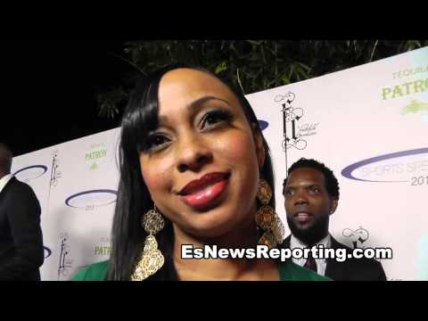 actress says she is a fan of Floyd Mayweather and TMT