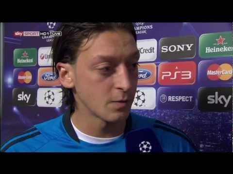 Mesut Özil Interview - FC Bayern 2:1 Real Madrid