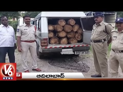 Water Logging At Singareni Open Cast | Kadem Project | Telangana State Roundup | V6 News